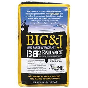 BIG & J BB2™ Enhance Corn & Pellet Super Supplement - 20 lb Bag