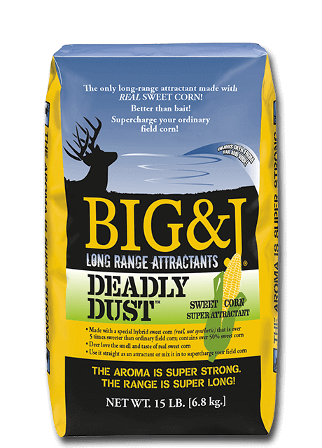 BIG & J DEADLY DUST™ Sweet Corn Super Attractant