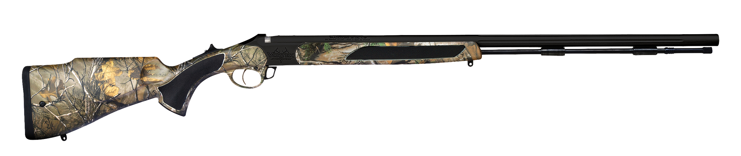 Traditions Vortek StrikerFire™ LDR .50 cal Realtree Xtra camo, Nitride Coating -  R599246NS