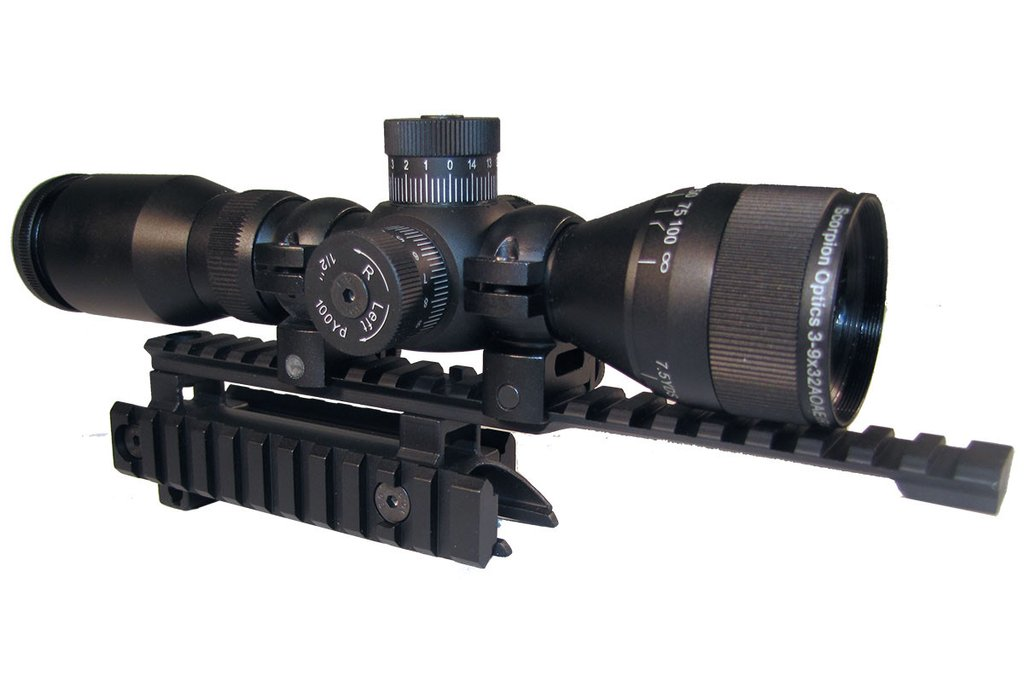 Scorpion SKS Scope/Mount Combo * 20% OFF *