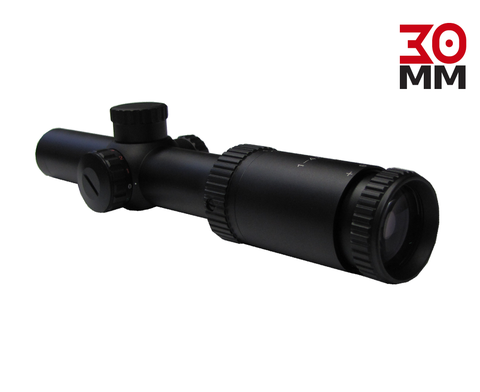 Scorpion Venom Hi Grade IR 1-4x24 Riflescope 30mm with rings (not RDS)